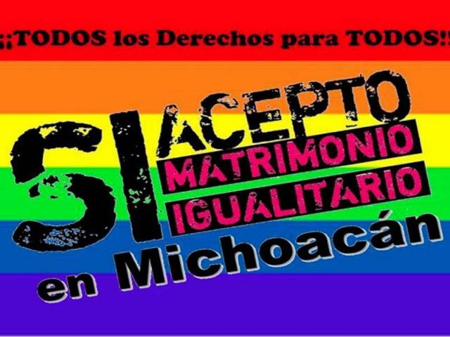 El matrimonio gay en Michoacán ya es legal