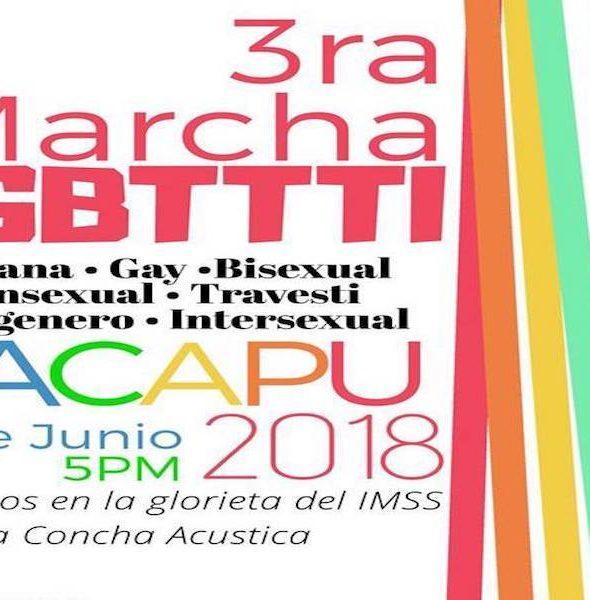3ª Marcha LGBTTTI Zacapu 2018