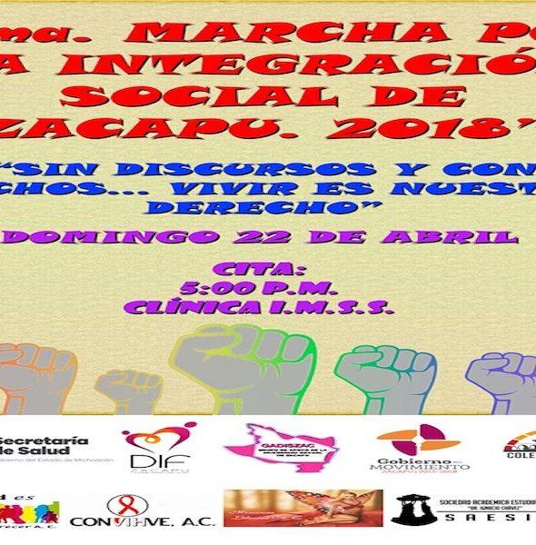 Marcha por la Integración Social de Zacapu 2018