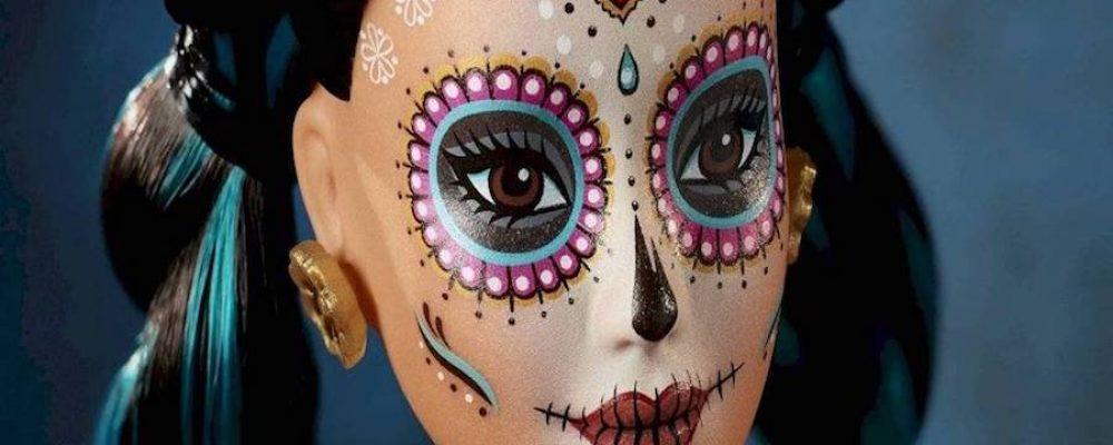 Así luce la Barbie Día de Muertos